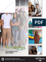 Partnerships for Summer Youth Employment (January 2013 edition)