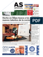 Mijas Semanal nº581 Del 2 al 8 de mayo de 2014