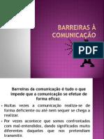 Barreiras à Comunicação.ana