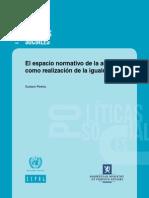 Pereira El espacio normativo de la autonomía como realización de la igualdad (CEPAL)