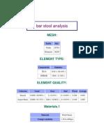 bar stool analysis