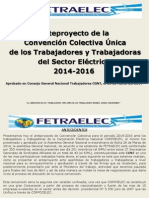 Presentacion Ccu 2014 2016 Fetraelec