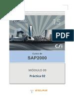 Sap2000.Ejercicio 09.02