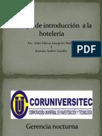 Trabajo de Introducción a La Hotelería