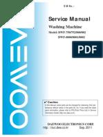 DWF-166WD Manual Servicio
