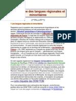 La Politique Des Langues Régionales Et Minoritaires