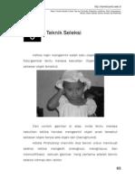 Bab5 - Teknik Seleksi