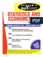 Statistics and Econometrics (Schaum's Outline)