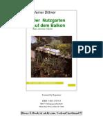 Werner Dittmer - Der Nutzgarten Auf Dem Balkon