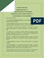 informe pedaggico consolidado jeannie2014