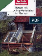 Peter Himmelhuber Wolfgang Grosser - Bauen Mit Recycling-Materialien Im Garten