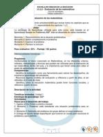 Guia Trabajo Colaborativo 1 Evaluacion de Las Matematicas