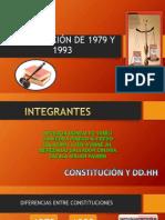 Constitución de 1979 y 1993 (1)
