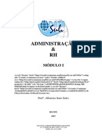 Administracao RH Modulo I