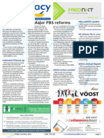 Pharmacy Daily for Fri 02 May 2014 - Major PBS reforms, PBS reforms slammed, Actavis restructures, Events Calendar and much more