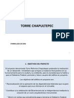 Torre Chapultepec Ppt