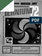 Revista Tehnium anul 1972 nr 12