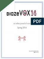 BlazeVOX 14