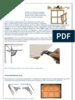 Izrada okvira za platno / Creating a framework for canvas