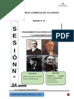 Módulo Pensamiento Filosófico Peruano