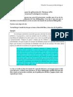 Guía Para La Aplicación de Normas APA