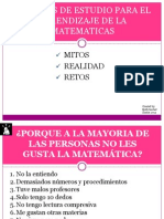 Charla Motivacion Matematicas