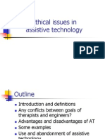 ethical issues in assistiv technology
