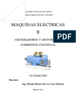 Maquinas Electricas II - Fiee Uncp