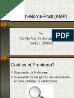 Knuth Morris Pratt (KMP)