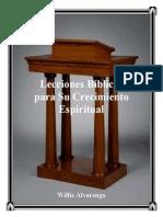 Lecciones Bc3adblicas Para Su Crecimiento Espiritual
