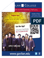 Gavilan College Registration Guide Fall/ Summer 2014