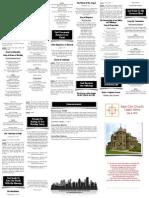 May 4, 2014 Worship Folder