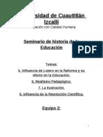 Historia de La Educ Resumen