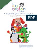 02. JPR - Baby Einstein - Neighborhood Animals (COLORING)