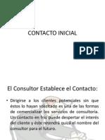 Contacto Inicial