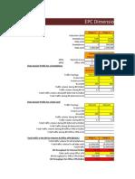 EPC Dimensioning Tool v2.0