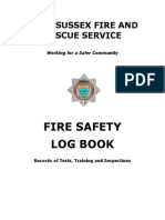 Fire Safety Log Book.doc Version 2