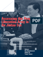 Assessing the PLA in the Hu Jintao Era
