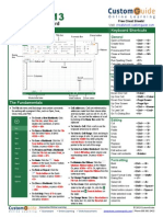 Microsoft Excel 2013 Reference Guide