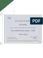 Certification CCNA