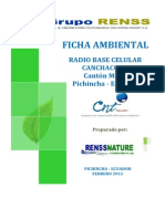 Canchacoto - Ficha Ambiental Cnt Ep