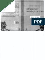 Davis Control Urbano La Ecologia Del Miedo