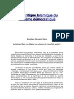 Une critique Islamique du système démocratique