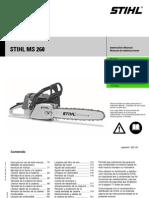 MS260 Manual
