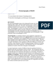 Chromatography, m&m, chromatography paper,