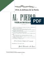 2014 04 21 Coatepecanos Defensa Patria
