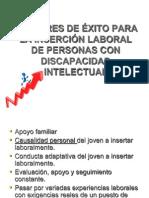 EMPLEO CON APOYOfactores de exitoo.ppt