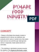 Readymade Food Industry Presentation