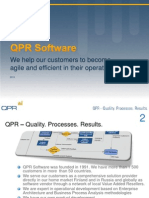 QPR Company Presentation