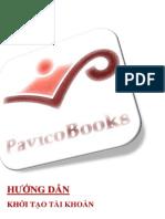 Hướng dẫn khởi tạo Tài khoản - PavicoBooks